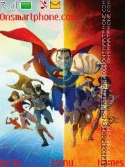 Justice League tema screenshot