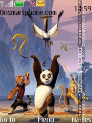 Kung Fu Panda 07 theme screenshot