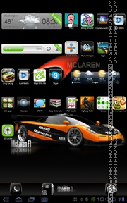 F1 Mclaren tema screenshot