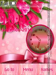 Pink Tulips es el tema de pantalla