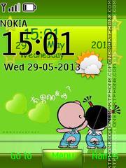 Cartoon Kids tema screenshot