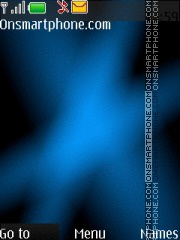 Clear Black Blue theme screenshot