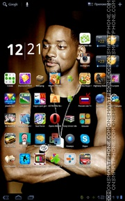 Will Smith 01 theme screenshot