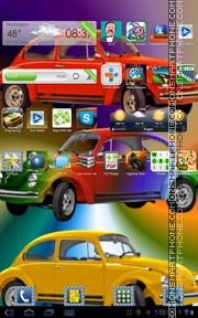 Beetle 02 tema screenshot