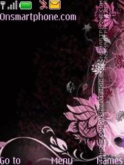 Black Lamour 01 theme screenshot