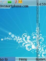 Abstract Blue 07 theme screenshot
