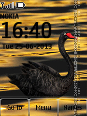 Black Swan theme screenshot