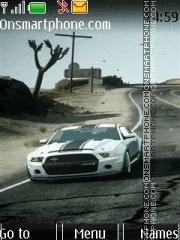 Car HD Mustang theme screenshot