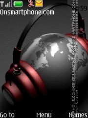 World Is Music es el tema de pantalla