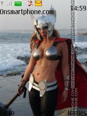 Lady Thor theme screenshot