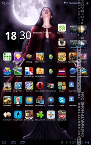 Gothic 08 theme screenshot