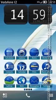 Capture d'écran Feathers Touch HD thème