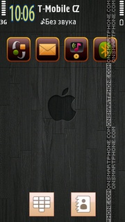 Apple Black tema screenshot