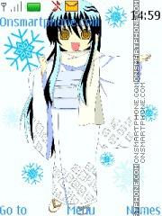 Yuki-onna theme screenshot