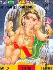God Ganesha theme screenshot