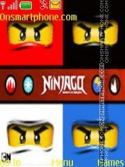 NinjaGo theme screenshot