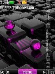 3d Cubes 2014 theme screenshot