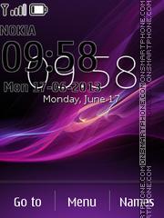 Sony Xperia Z7 theme screenshot