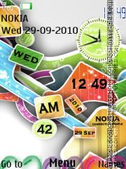 Colourfull theme screenshot