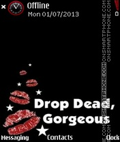 Drop es el tema de pantalla