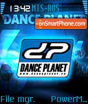 Dance Planet es el tema de pantalla