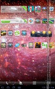 Galaxy Deep es el tema de pantalla