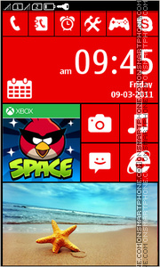 Lumia Exclusive Full Touch tema screenshot
