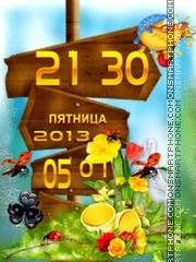 Summer Theme theme screenshot