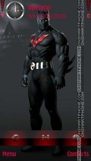 Batman Beyond theme screenshot