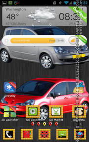 Renault Modus tema screenshot