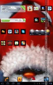 Santa kitty 01 es el tema de pantalla