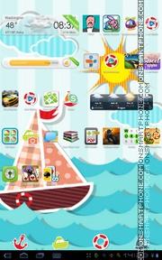 Sea World 01 es el tema de pantalla