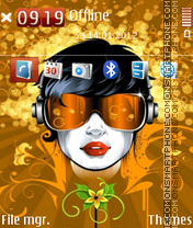 Music Mania 02 theme screenshot