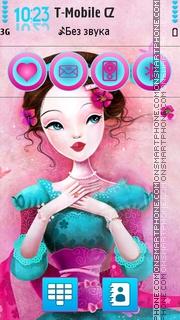 Cute Doll 11 es el tema de pantalla