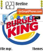 Burger King theme screenshot