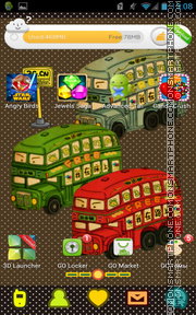 Bus 01 tema screenshot
