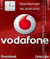 Vodafone Logo es el tema de pantalla