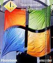 Windows Flag es el tema de pantalla