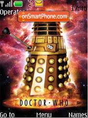 Doctor Who theme screenshot