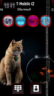 Fish & Cat HD v5 theme screenshot