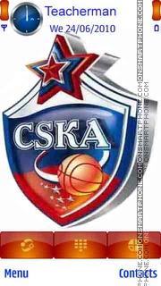CSKA Moscow es el tema de pantalla