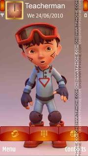 Capture d'écran Boy Rider thème