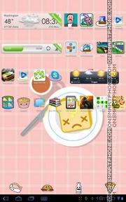 Food Toast es el tema de pantalla