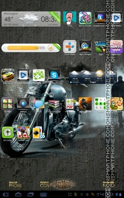 Easy Rider 01 tema screenshot
