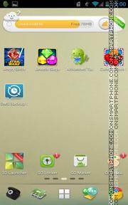 Fade Time tema screenshot