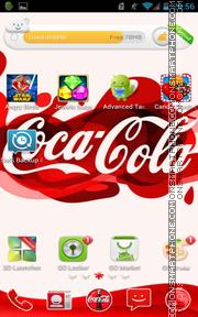 Coca Cola 2015 es el tema de pantalla