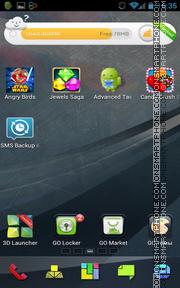 Graphics Art 02 es el tema de pantalla