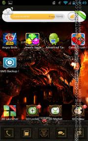 Diablo Dungeon tema screenshot