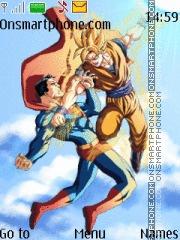 Goku vs Superman theme screenshot