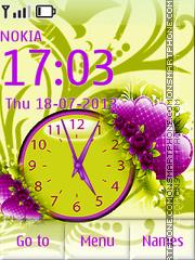 Green-Purple Theme theme screenshot